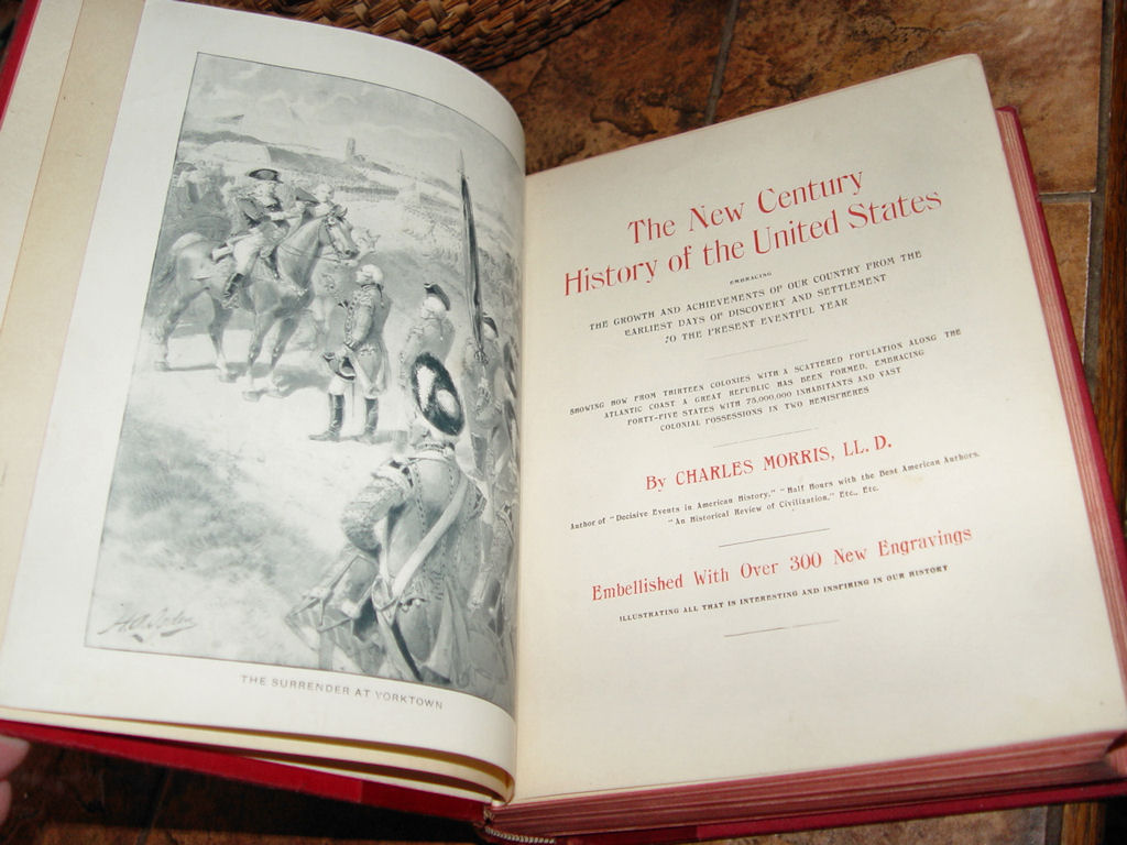 New Century History of the                                         United States-MORRIS 1900; New                                         Century history of the United                                         States