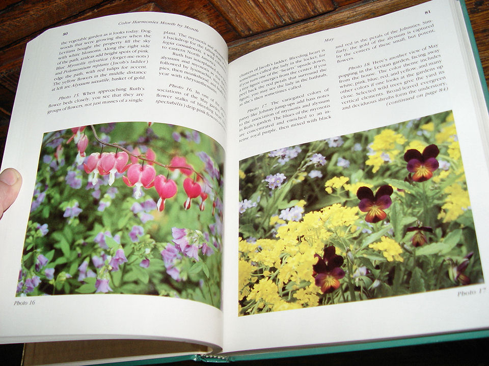 The Perennial Garden Color                                         Harmonies through the Seasons by                                         Jeff and Marilyn Cox 1985