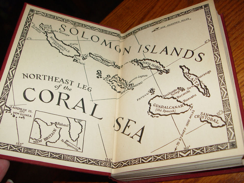 Headhunting in the Solomon                                         Islands: Around the Coral Sea                                         Mytinger, Caroline Published by                                         Macmillan, New York (1942)