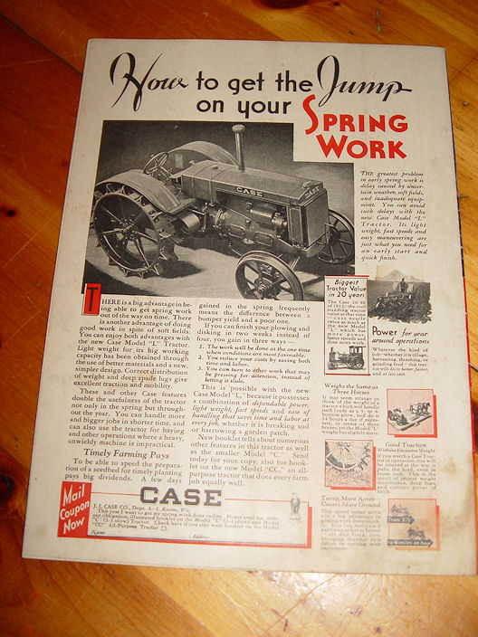 American Thresherman and                                         Farm Equipment - January 1932                                         Scarce Magazine