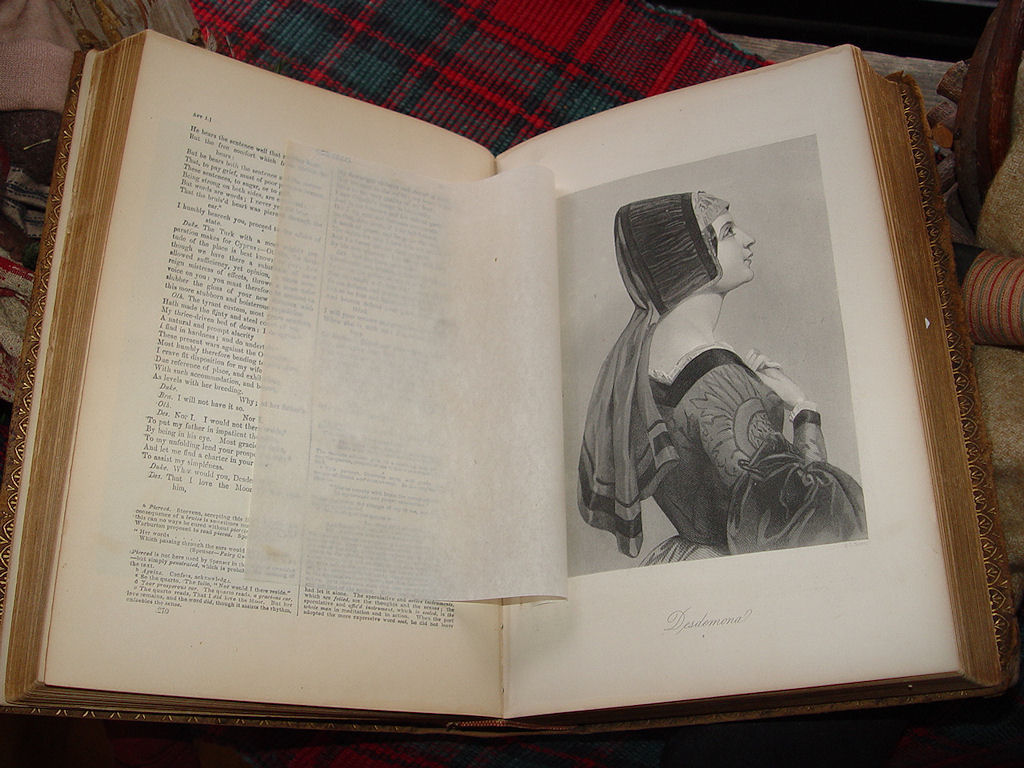 1880 Knight's Pictorial                                         Edition of the works of William                                         Shakespeare edited by Charles                                         Knight