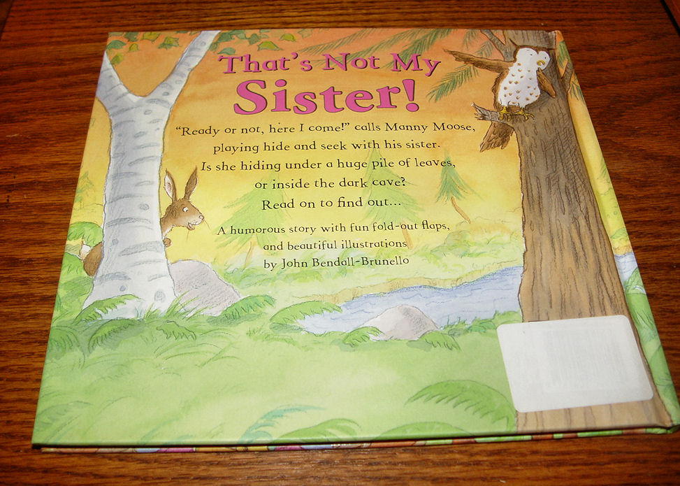 That's Not My Sister                                         Hardcover – 2008 by Peter                                         Bently
