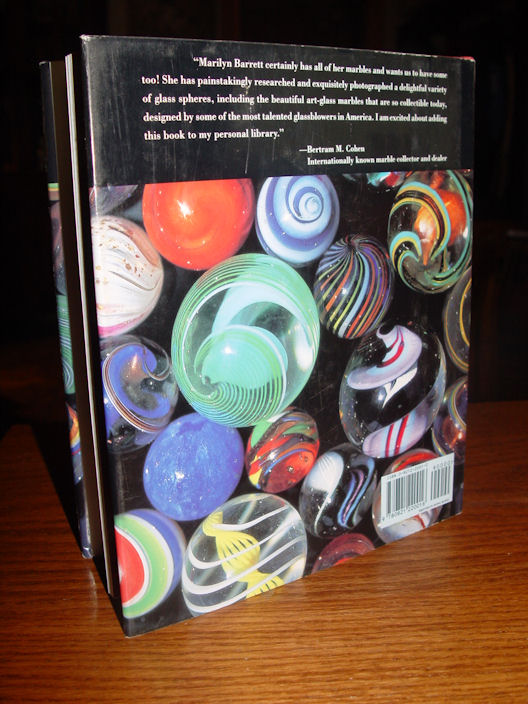 Aggies, Immies, Shooters                                         and Swirls ~ The Magical World                                         of Marbles by Marilyn Barrett                                         1994 Stated First Edition