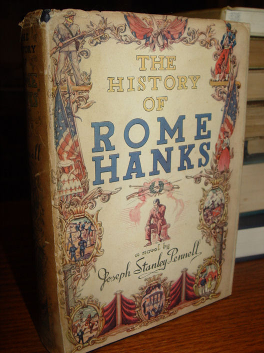 The History Of Rome                                                 Hanks And Kindred                                                 Matters by Joseph                                                 Pennell, Scribner's                                                 & Sons, 1944 First                                                 Edition