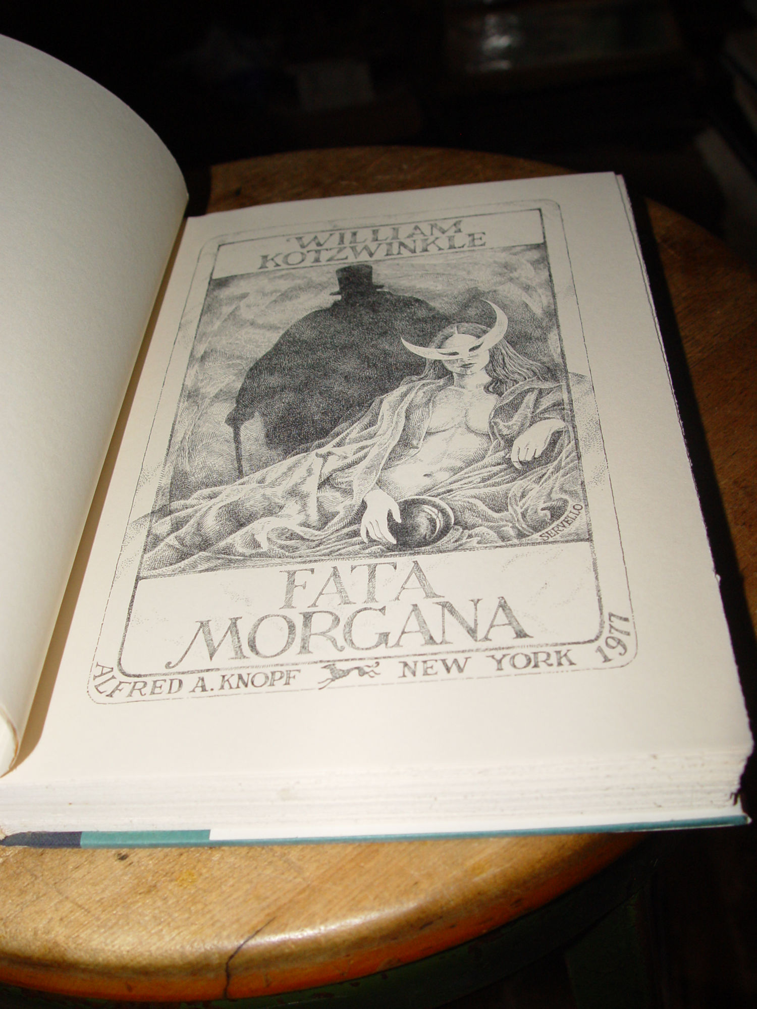 Fata Morgana by William                                         Kotzwinkle 1977 Edition -                                         Mystery and Intrigue Grosset                                         & Dunlap 1931