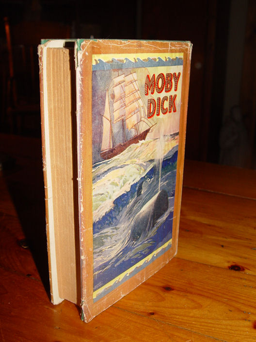 Moby Dick or The Whale                                         Melville, Herman Published by                                         Saalfield Publishing Company,                                         Akron, OH, USA, 1931