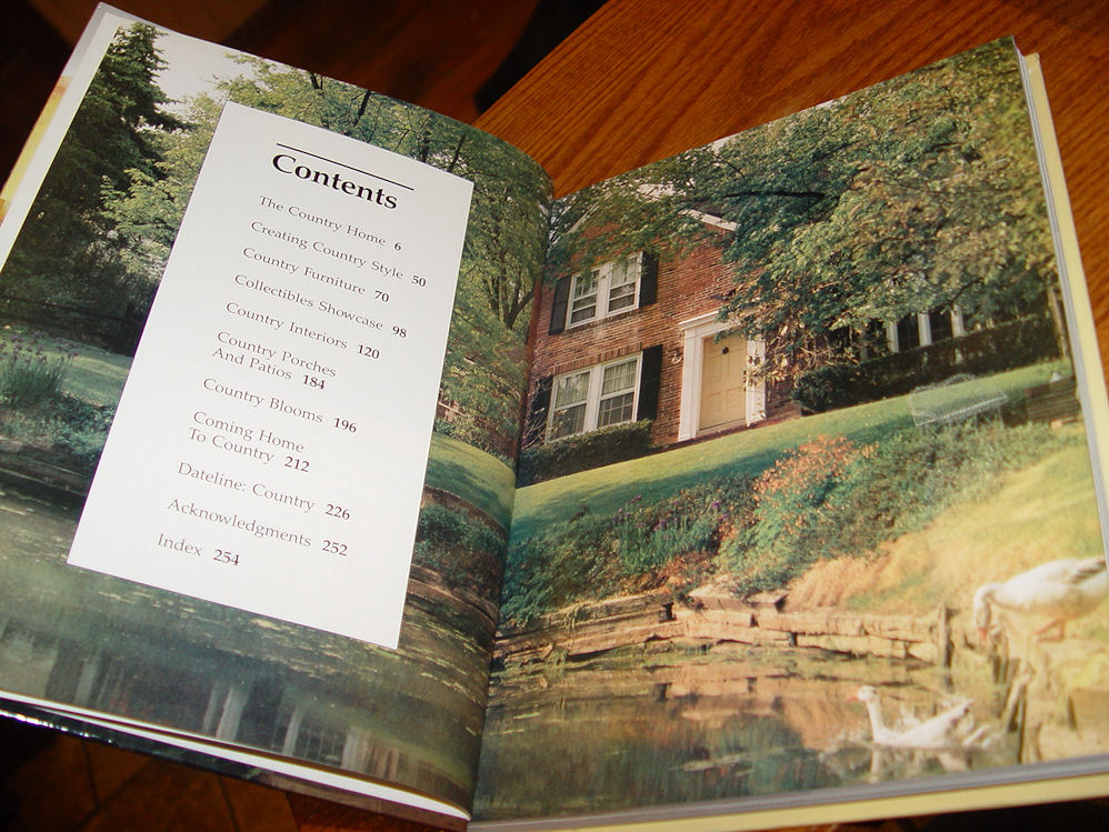 Better Homes and Gardens                                         Country Style Hardcover –                                         February, 1987