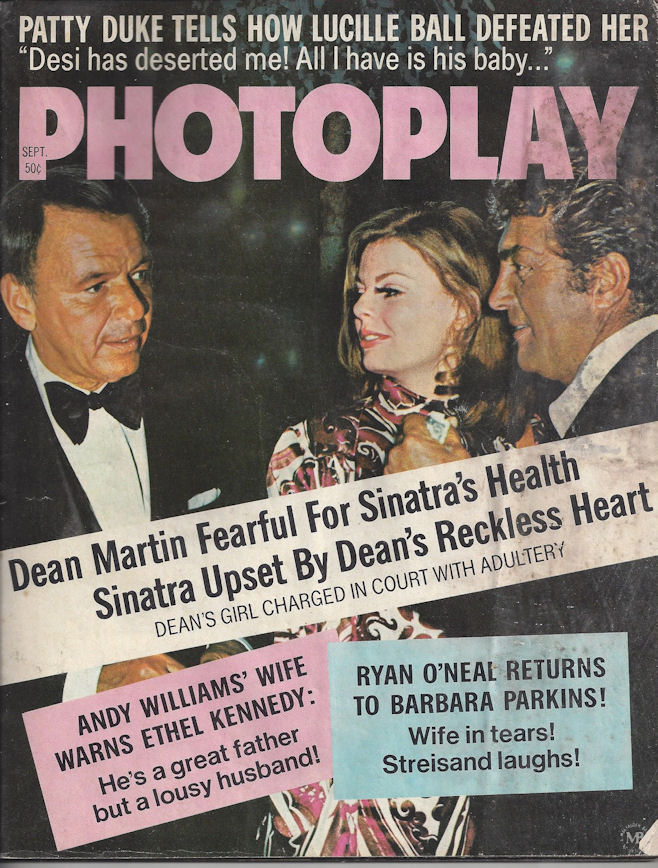 September 1971 PHOTOPLAY ~                                         Dean Martin, Andy Williams,                                         Ethel Kennedy, Lucille Ball,                                         Patty Duke