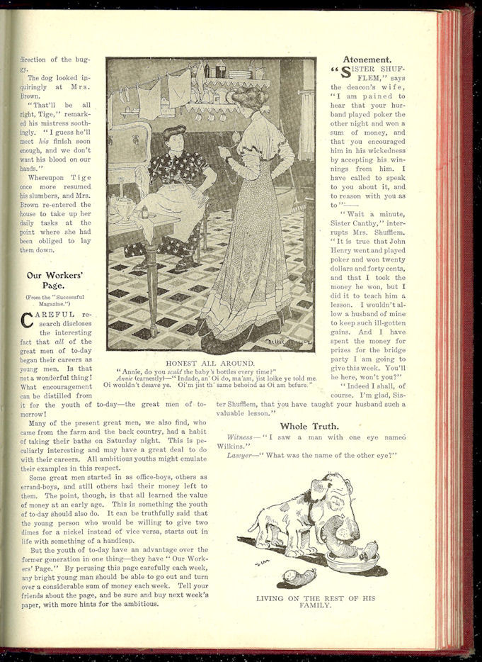 Caricature (14th Edition)                                         Wit and Humor of a Nation in                                         Picture, Song & Story                                         Leslie-Judge Co., New York: C.                                         1908 - 1912