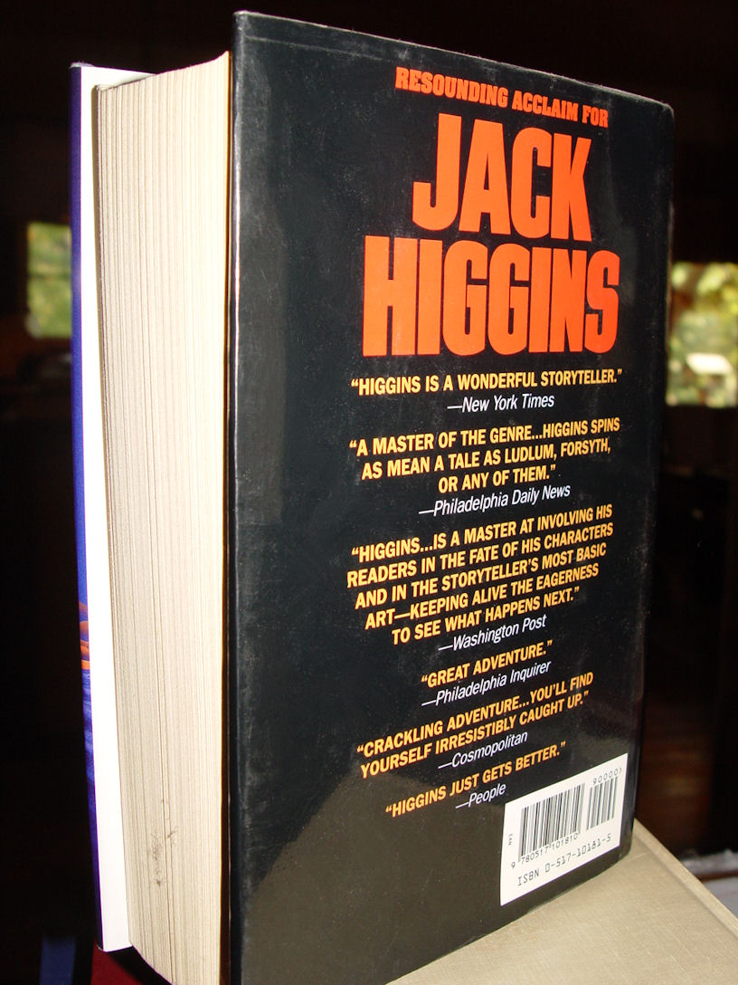 Jack Higgins:                                         Three Complete Novels: The Eagle                                         Has Landed; The Eagle Has Flown;                                         Night of the Fox Hardcover –                                         1994 by Jack Higgins