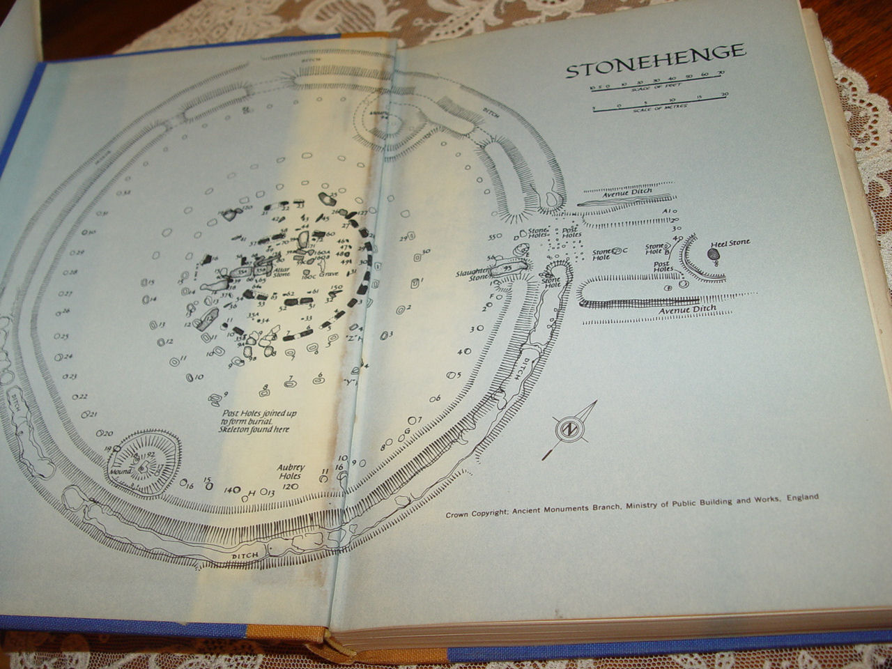 Stonehenge                                         Decoded - Gerald S Hawkins.                                         Published by Doubleday, Garden                                         City, NY 1965