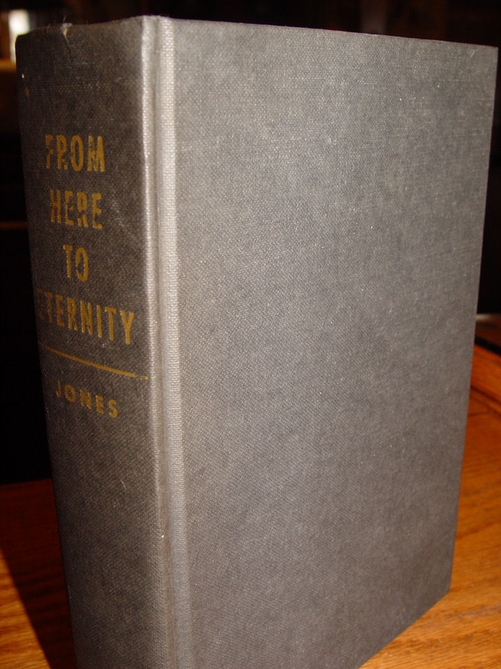 From Here To                                                 Eternity, by James Jones                                                 - 1951, First Edition,                                                 Hardcover Book