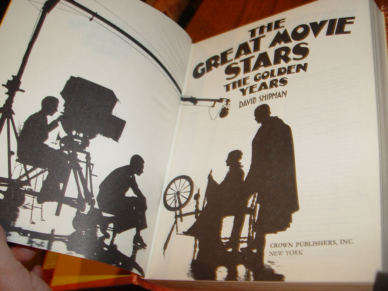The Great Movie                                         Stars: The Golden Years. by                                         David Shipman 1970 Crown Publ