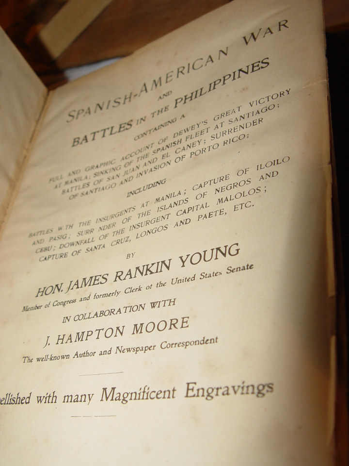 Spanish -                                                 American War Battles in                                                 the Philippines James                                                 Rankin Moore 1899