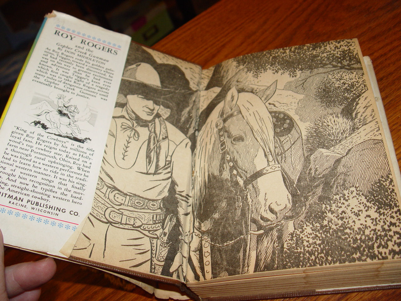 Roy Rogers And                                         The Gopher Creek Gunman : An                                         Original Story Featuring Roy                                         Rogers, Famous Motion Picture                                         Star, by Don Middleton 1945