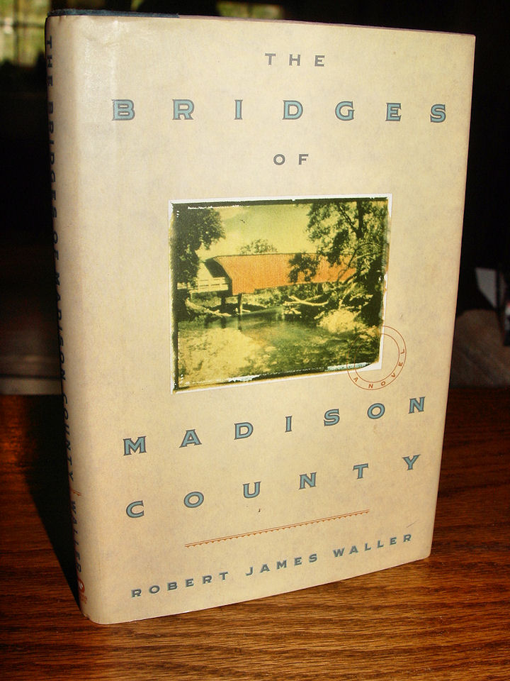 The Bridges of Madison                                         County Paperback – 1992 by                                         ROBERT JAMES WALLER