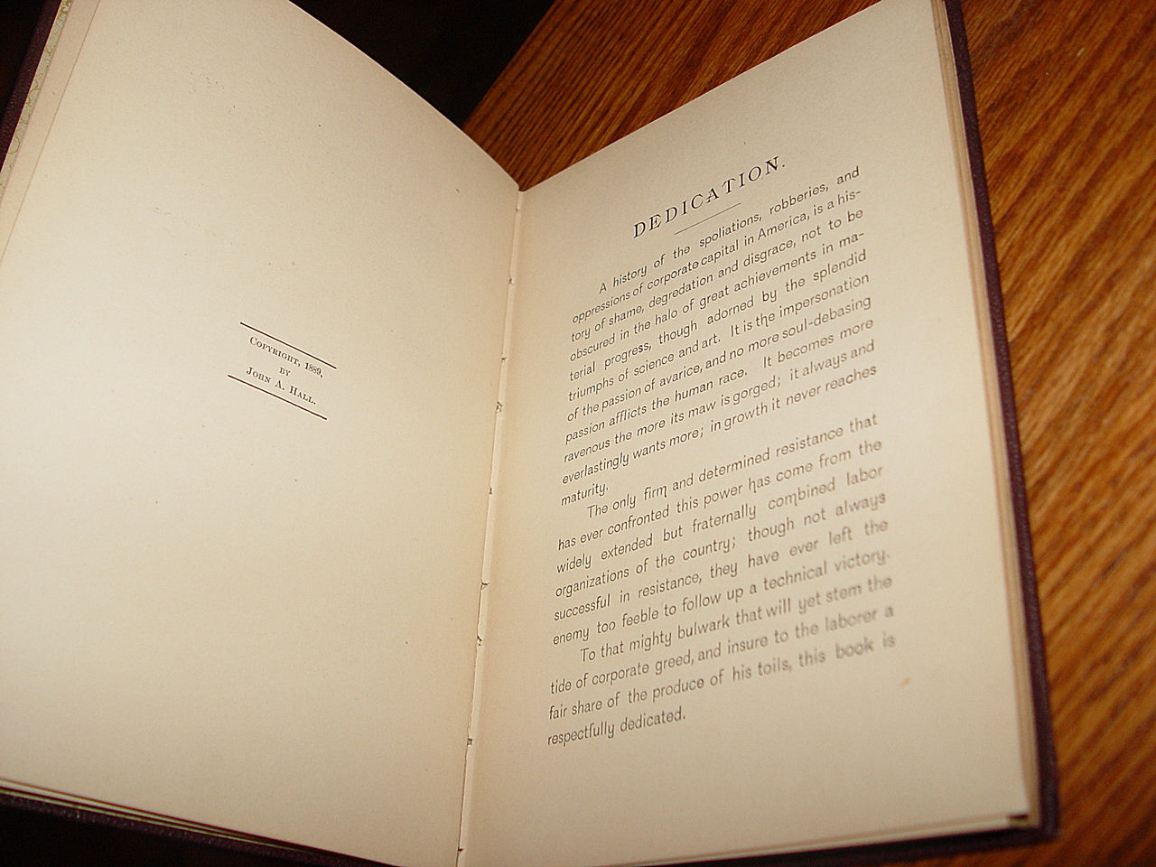 Rare First                                         Edition: The Great Strike on the                                         'q' With A History of the... by                                         Hall John A.