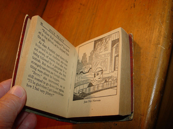 Dick Tracy Solves The                                         Penfield Mystery ~ # 1137 Big                                         Little Book 1934