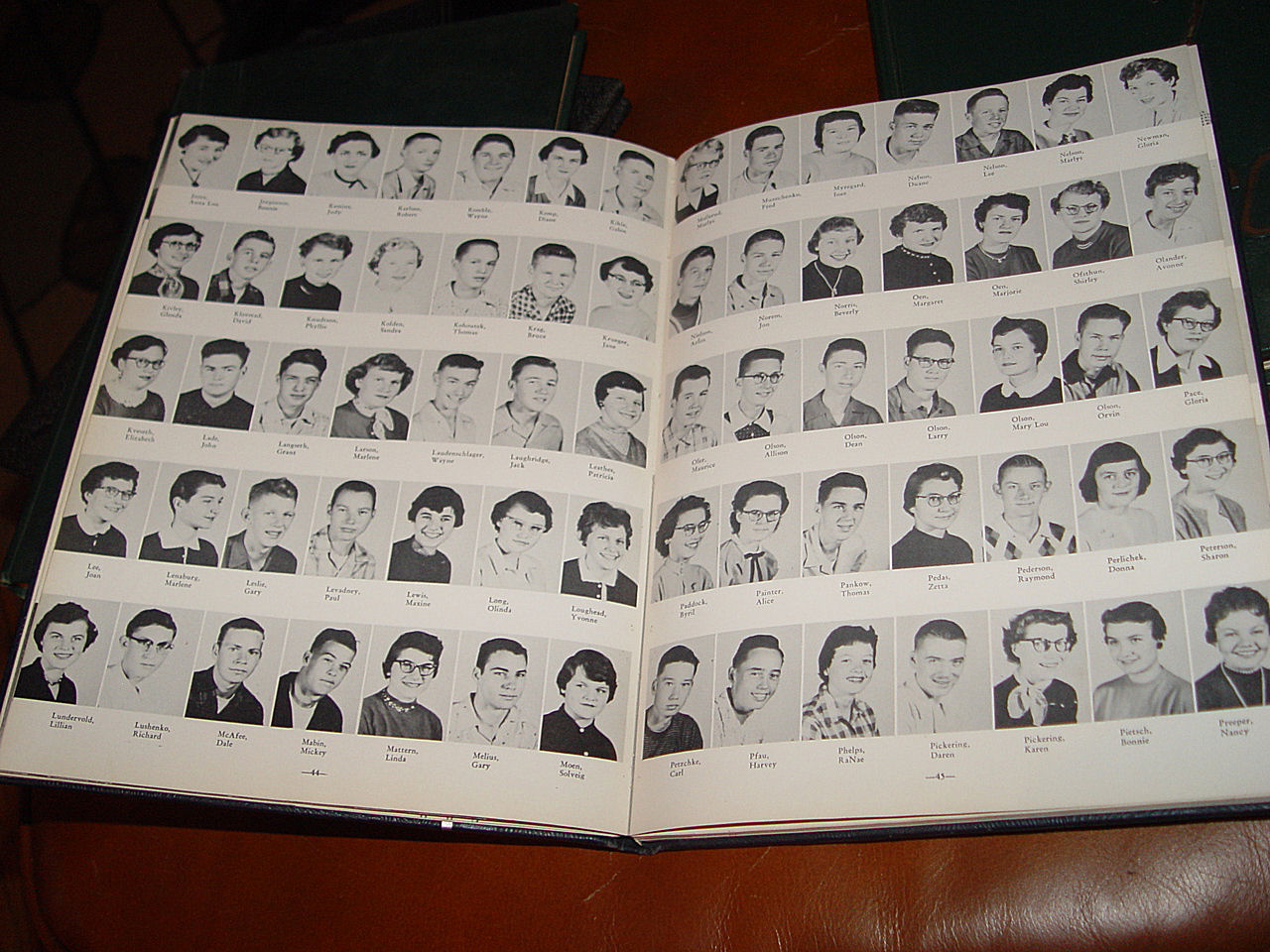 1955                                         Searchlight Minot Senior High                                         School Yearbook Vol. 48 ~ Very                                         nice