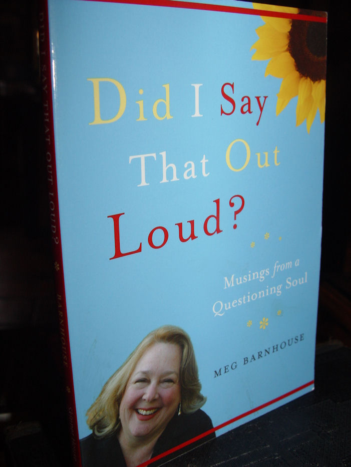 Did I Say That Out Loud?:                                         Musings from a Questioning Soul                                         by Meg Barnhouse 2006